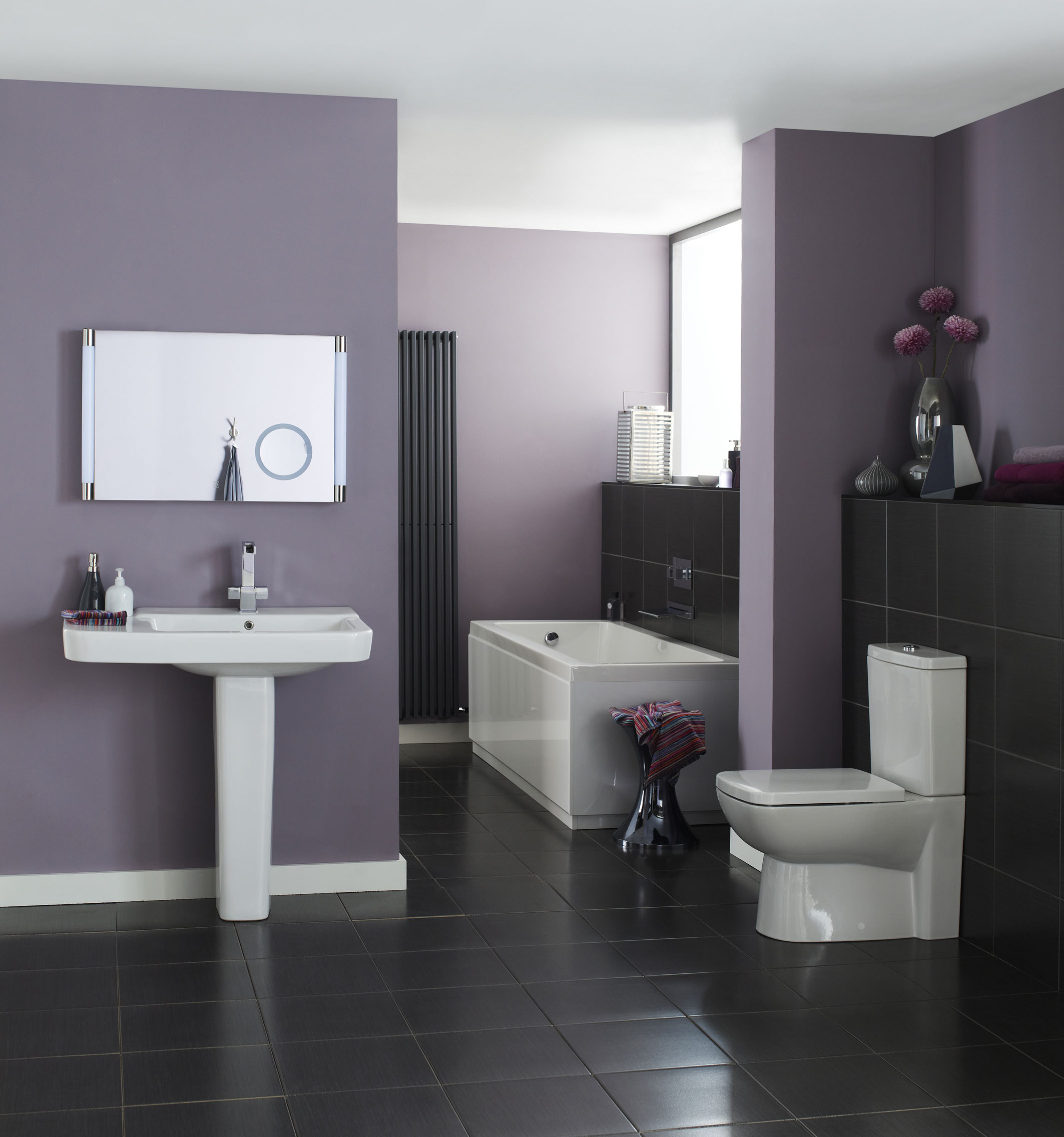 Haal het beste uit een kleine badkamer hudson reed - Hoe amenager een kleine badkamer ...