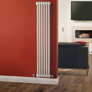 Hudson Reed Klassiek Kolom Radiator 1500 x 293mm
