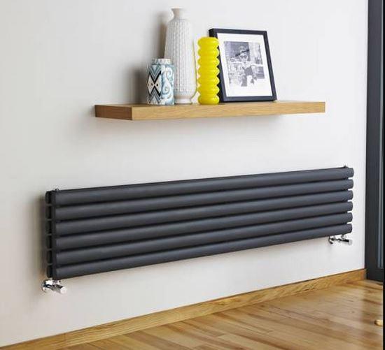 badkamer radiator design: badkamer radiatoren rvs handdoek, Deco ideeën
