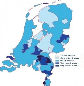 waterhardheid-per-gemeente-kaart