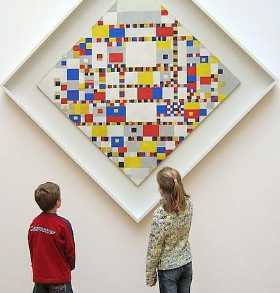De Victory Boogie Woogie van Piet Mondriaan